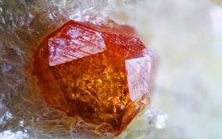 Спессартин — мандариновый камень страстной любви