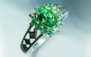 Демантоид — радужное сияние камня для глаз ценителя
