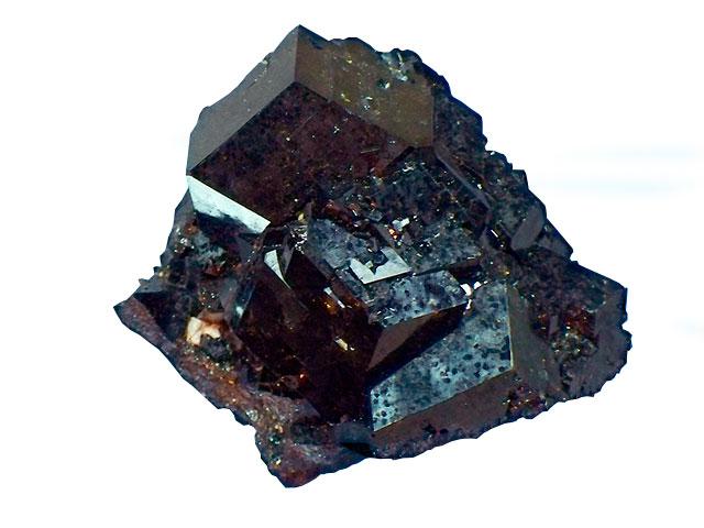 Кусок чёрного минерала