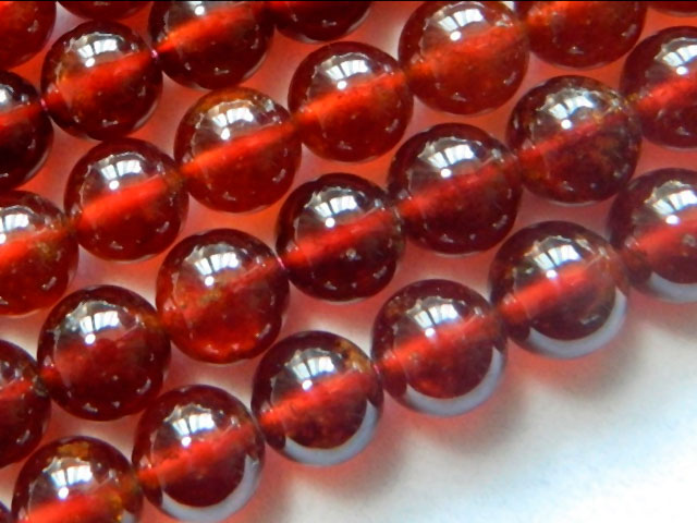 Красные бусы с Алиэкспресс