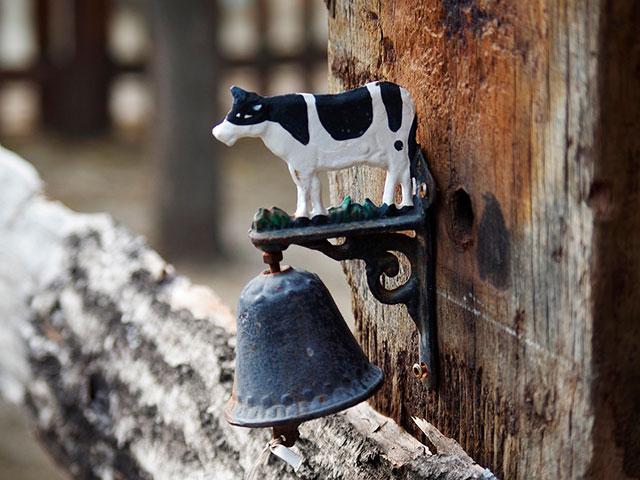 Оберег с коровой