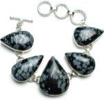 Ожерелье из обсидиана