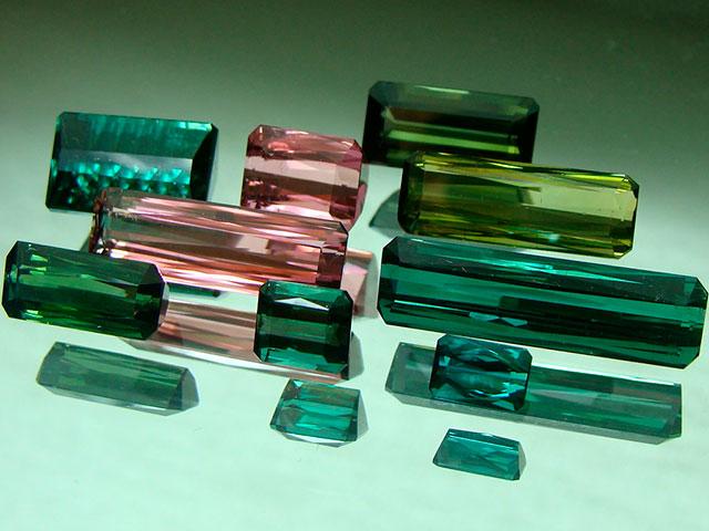Кристаллы турмалина