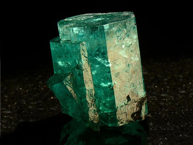 Зеленый кристалл