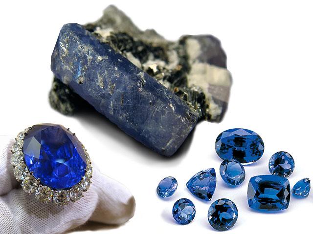 Синий камень для Водолея