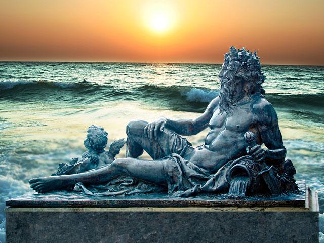 Скульптура Водолея
