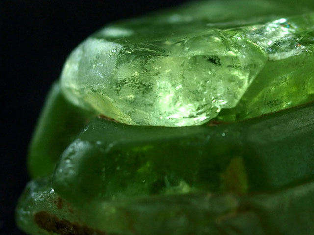 Зелёный кристалл