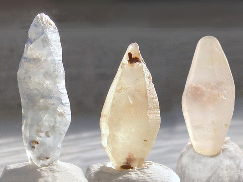 Кристаллы корунда