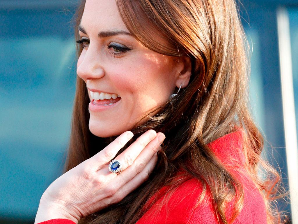 Кейт Миддлтон и её кольцо с сапфиром