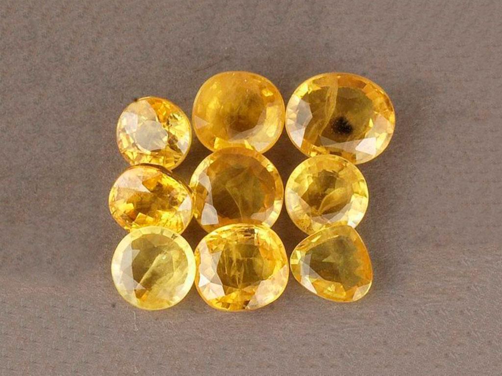 Желтые сапфиры